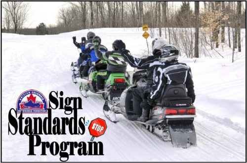 BCSF Sign Standards Program Manual for snowmobiling